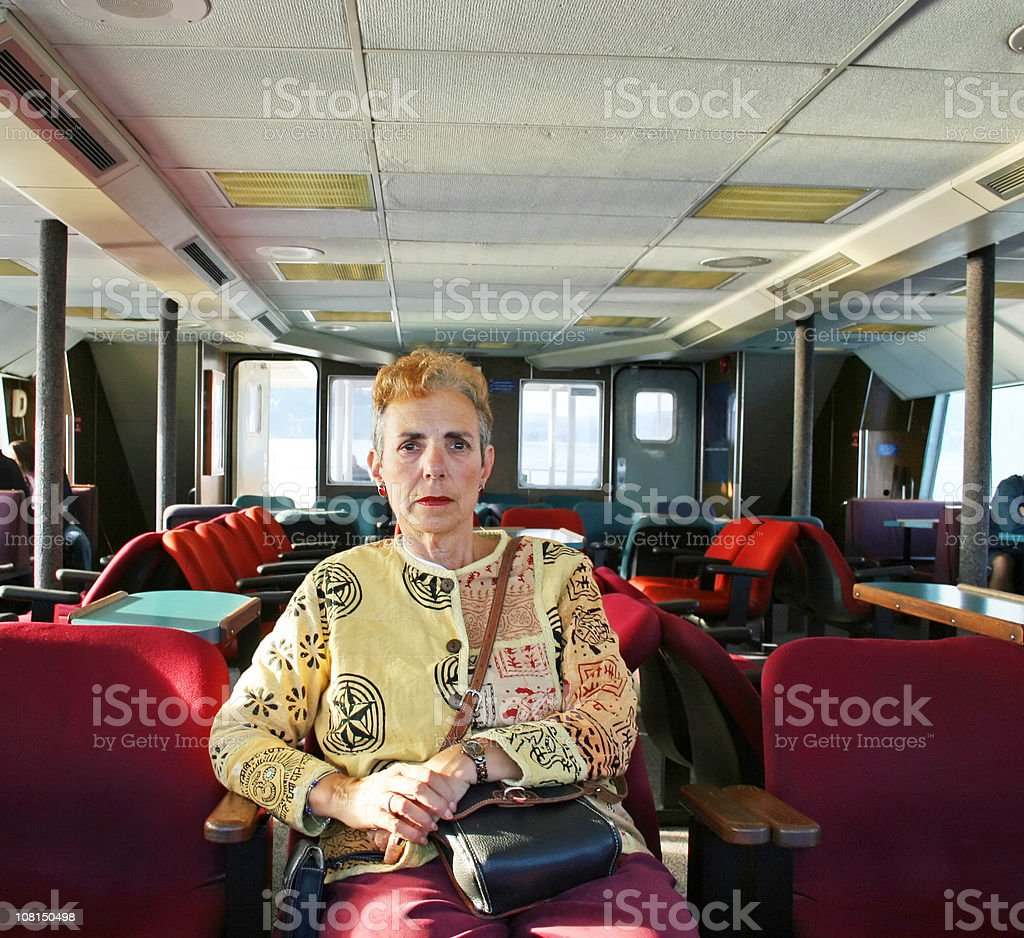 Serious Thought royalty-free stock photo