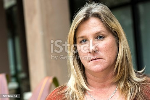 istock Serious woman (real people) 532667341