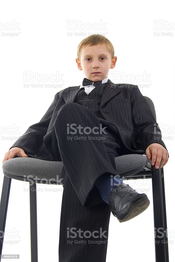 Serious Young Man. royalty-free stock photo