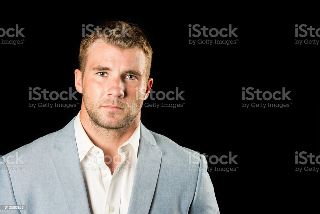 Serious Young Professional Adult stock photo