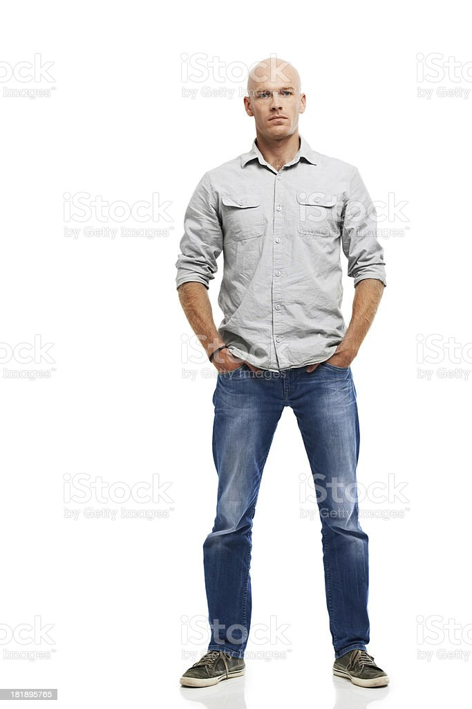 Seriously casual stock photo