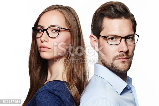 istock Seriously good looking couple 621137464