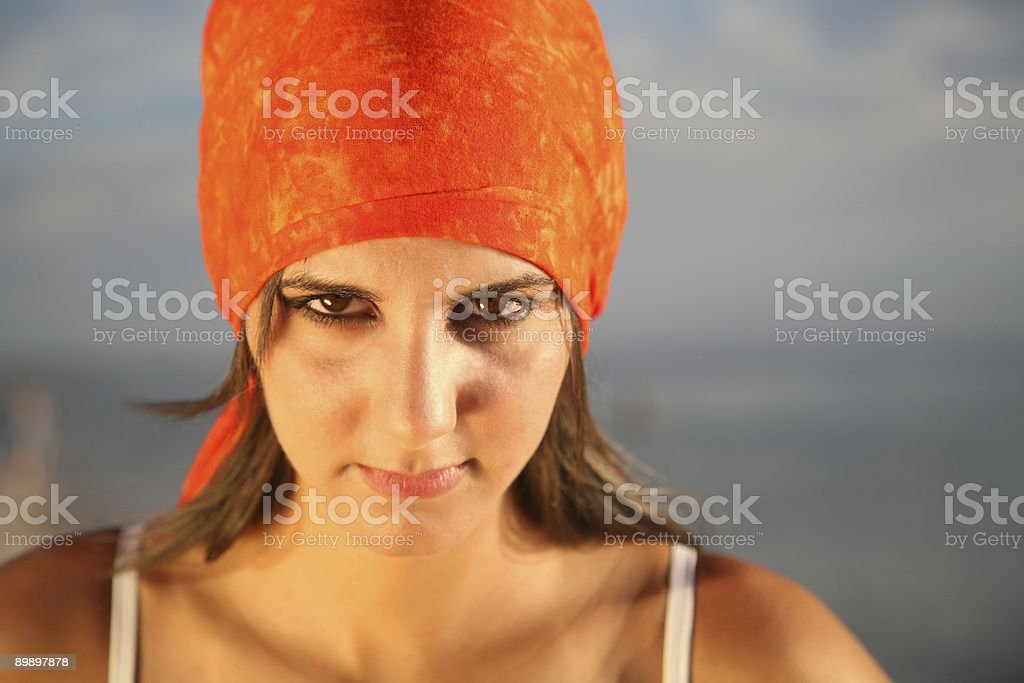Seriously royalty-free stock photo
