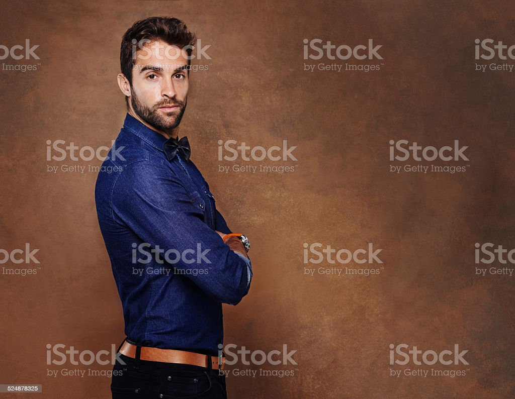 Seriously stylish stock photo