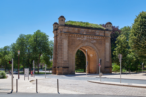 Serpenoise Gate In Metz Stock Photo - Download Image Now