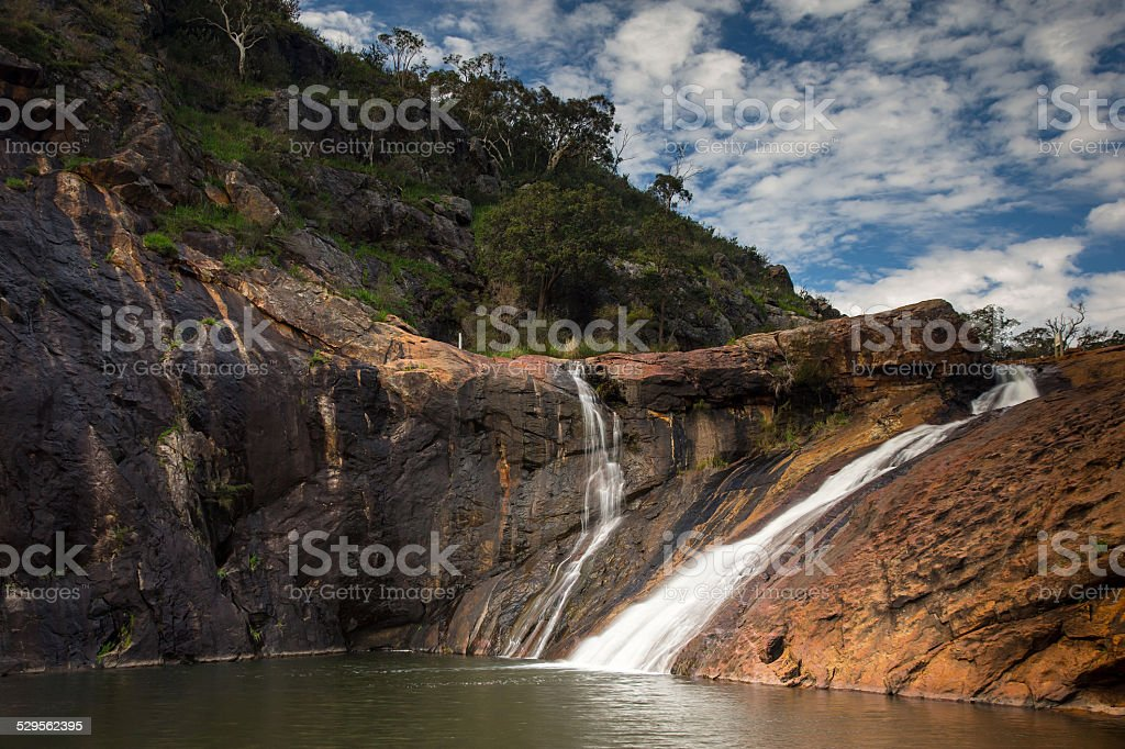 Serpentine Falls - Western Australia stock photo