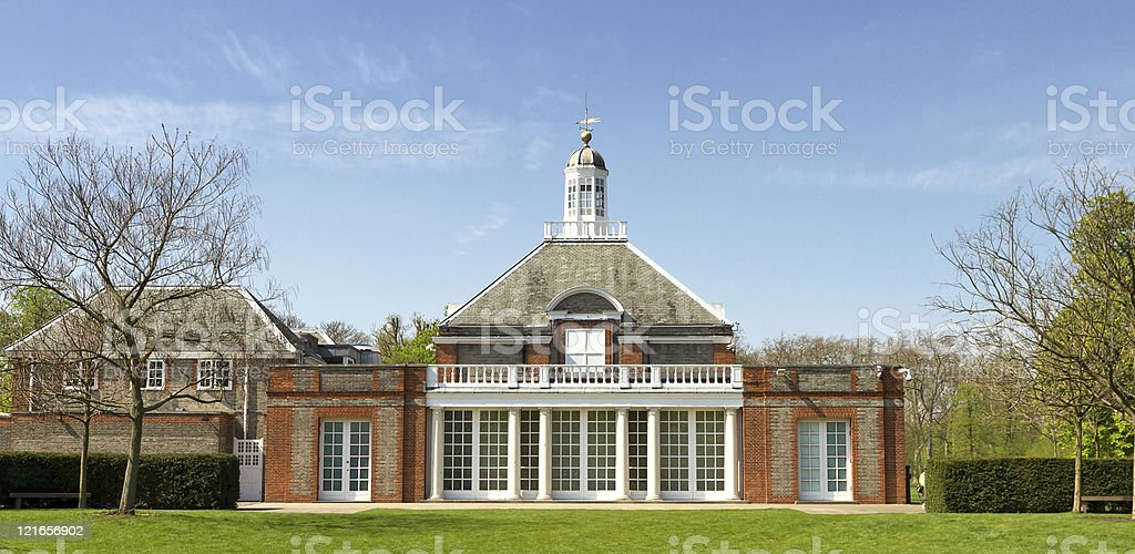 Serpentine Gallery stock photo