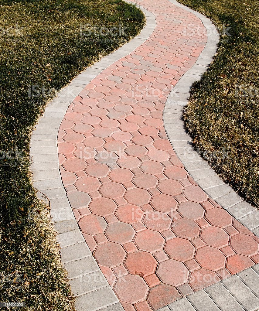 Serpentine Path royalty-free stock photo