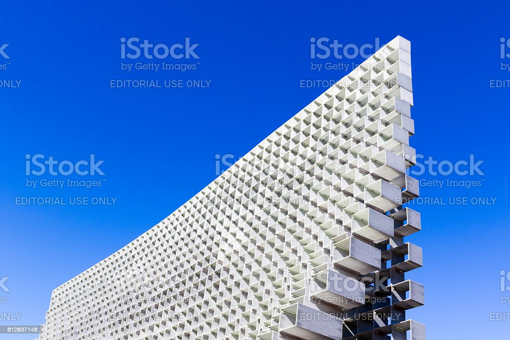 Serpentine Pavilion in Hyde Park stock photo