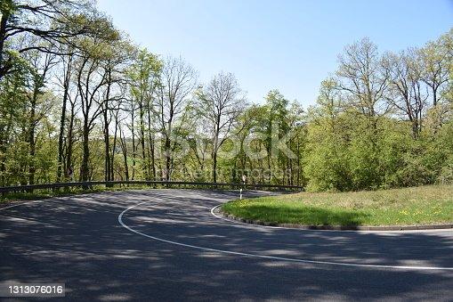 Eifel, main road to Nürburgring from Mayen