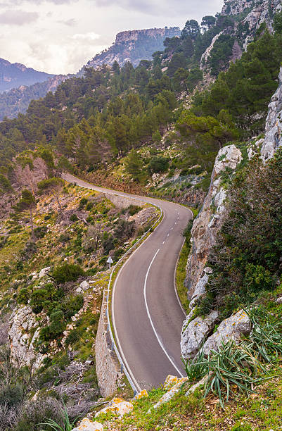 Serpentine Road, Majorca – Foto