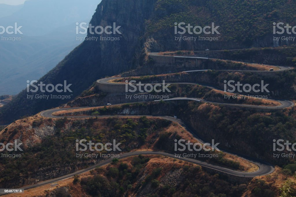 Serra da Leba road in Lubango, Angola stock photo