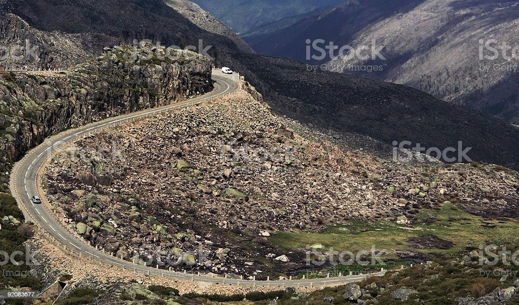 Serra de Estrela royalty-free stock photo