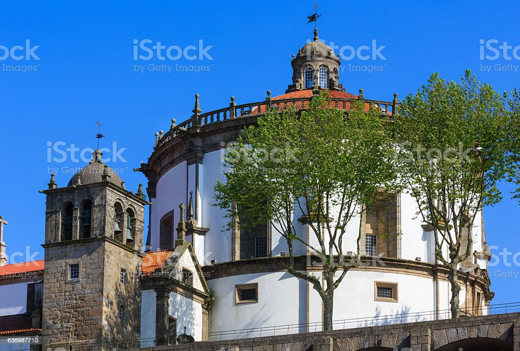 Serra do Pilar Monastery, Portugal. stock photo