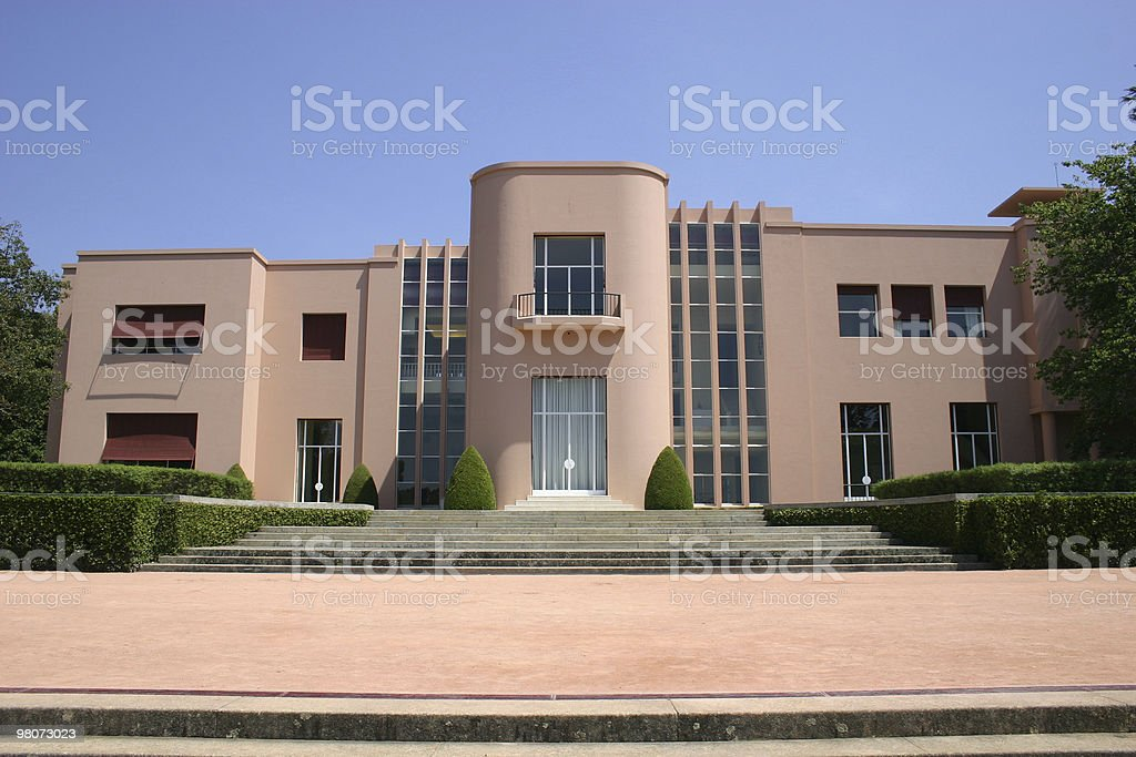 Serralves House royalty-free stock photo
