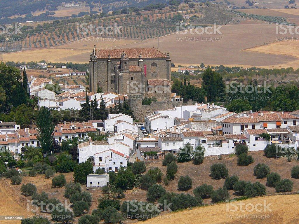 Serrania de Ronda National Reserve stock photo
