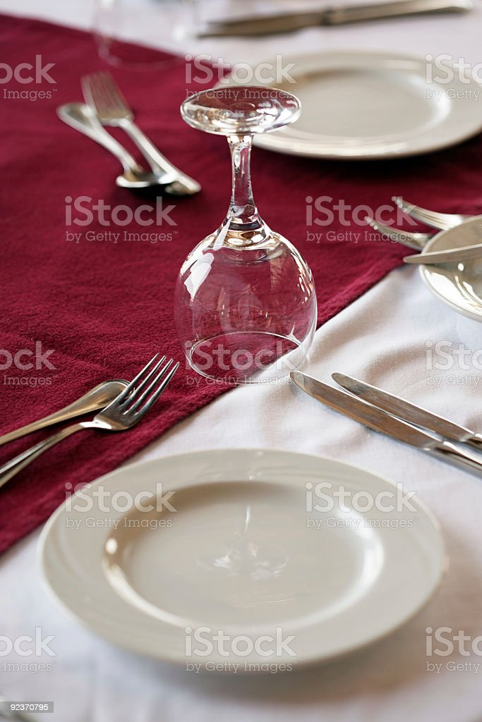 served table royalty-free stock photo