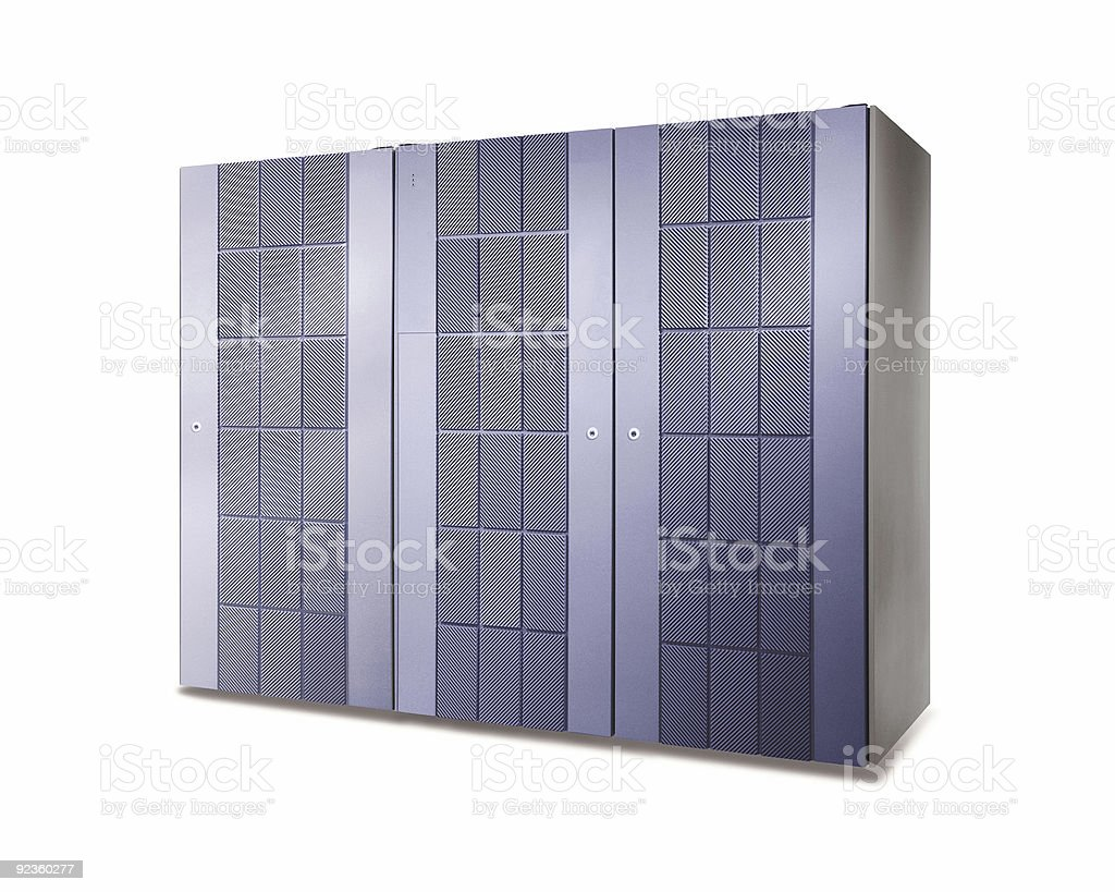 Server Cabinets royalty-free stock photo
