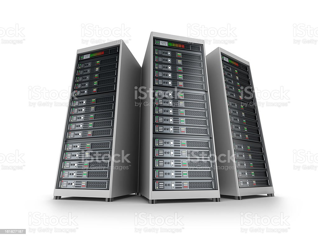 IT server grid royalty-free stock photo
