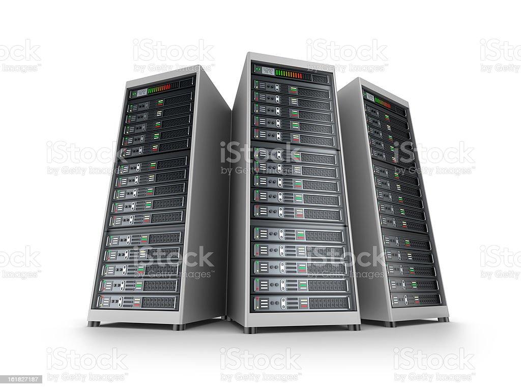 IT server grid stock photo