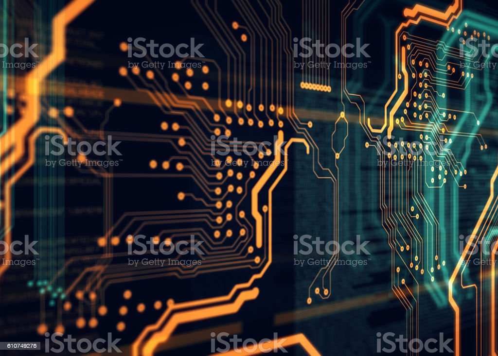 Server load html code stock photo