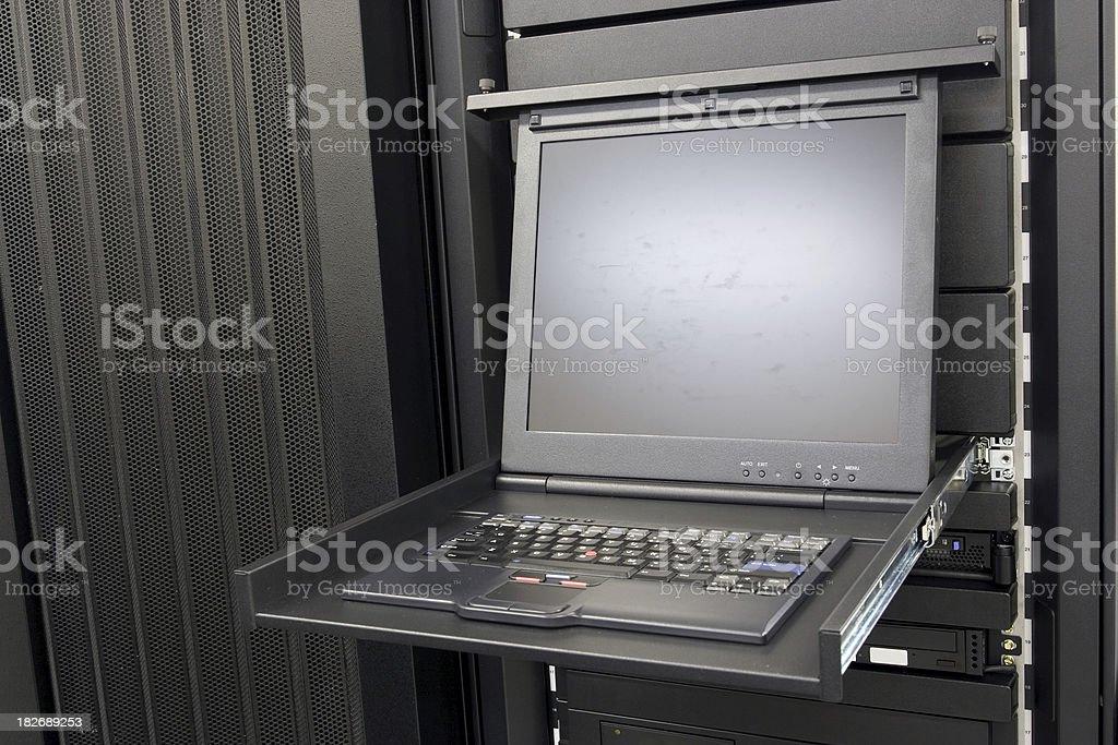 IBM Server Monitor stock photo
