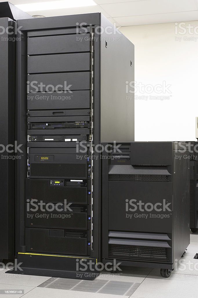 IBM Server royalty-free stock photo