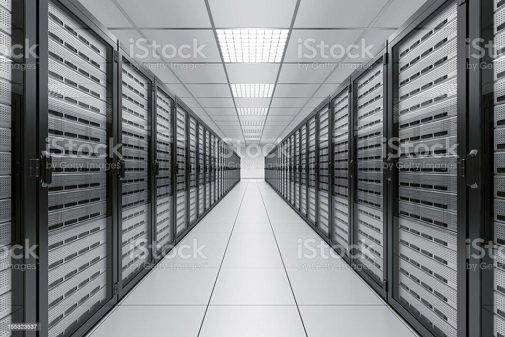 Server room royalty-free stock photo