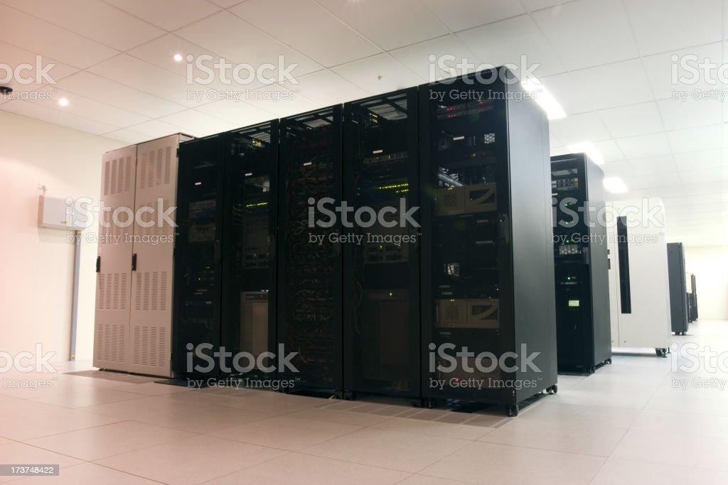 Server Room stock photo