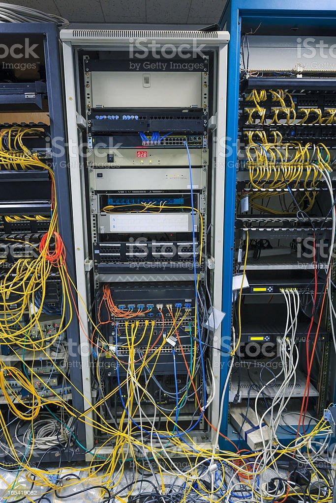 Server Room Under Construction royalty-free stock photo