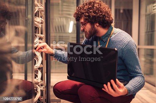 802303638 istock photo Server rooms 1094223792