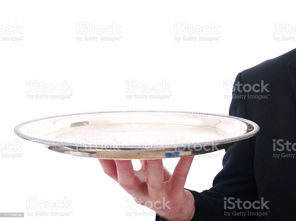 Server/Butler royalty-free stock photo