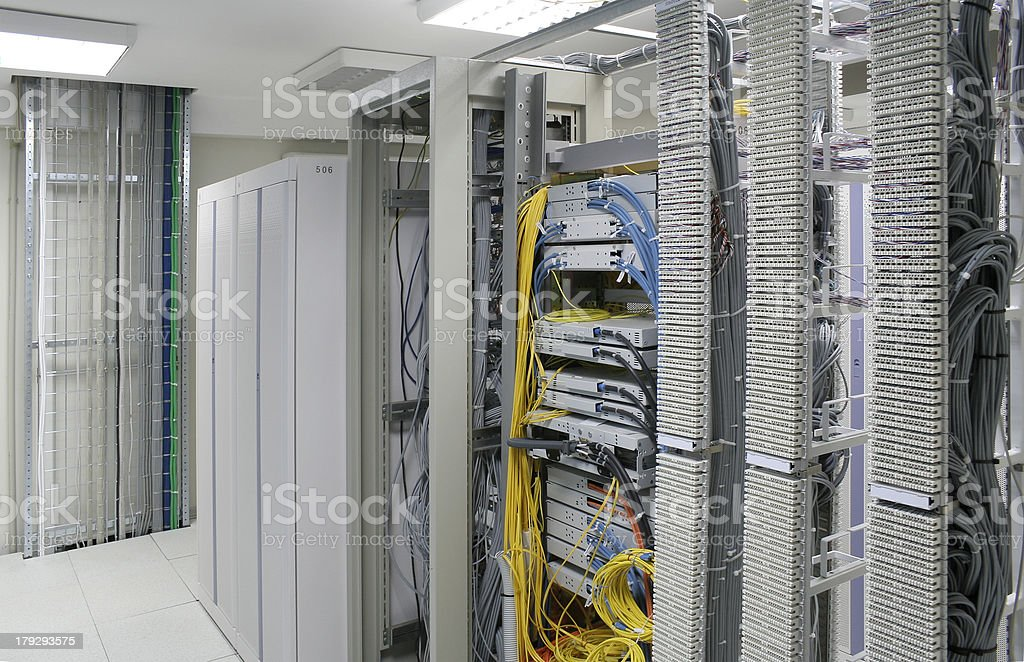 servers center stock photo