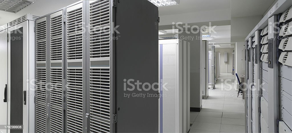 servers center stock photo
