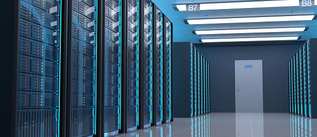 Servers in Data Center