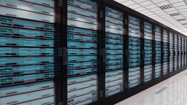 server in sala server - torre struttura edile foto e immagini stock