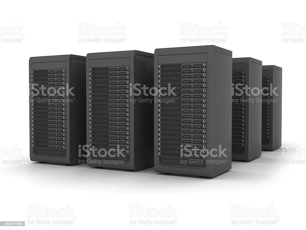 Servers royalty-free stock photo