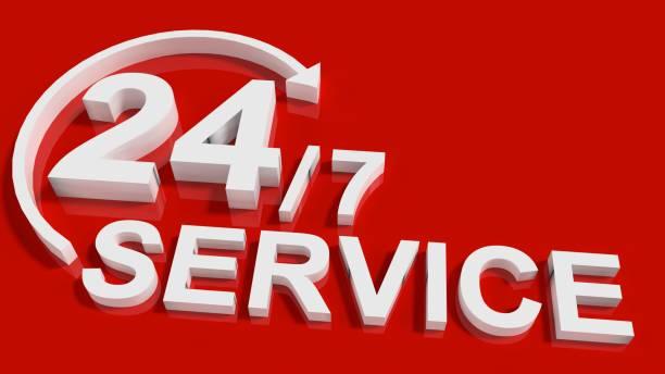Service rund um die Uhr – Foto