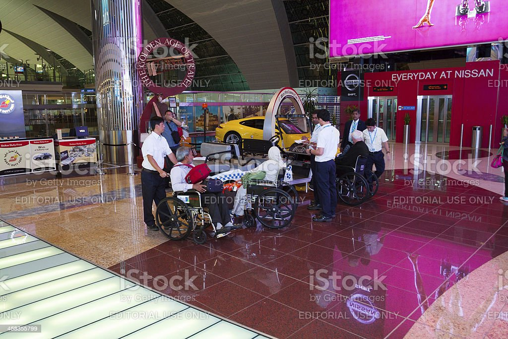 Service at airport royalty-free stock photo
