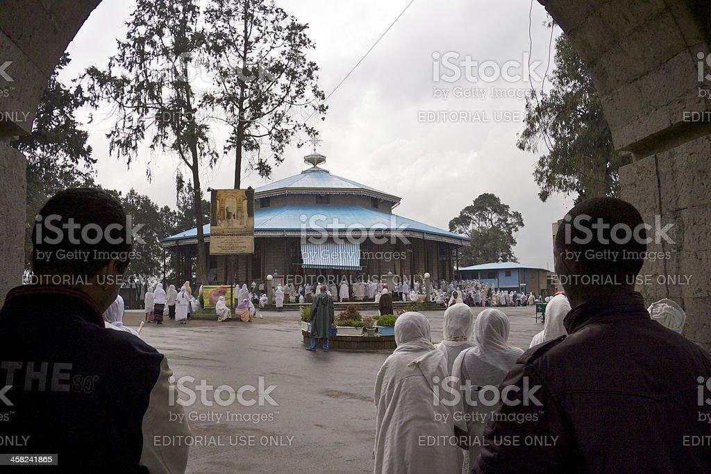 Service at Urael Church royalty-free stock photo