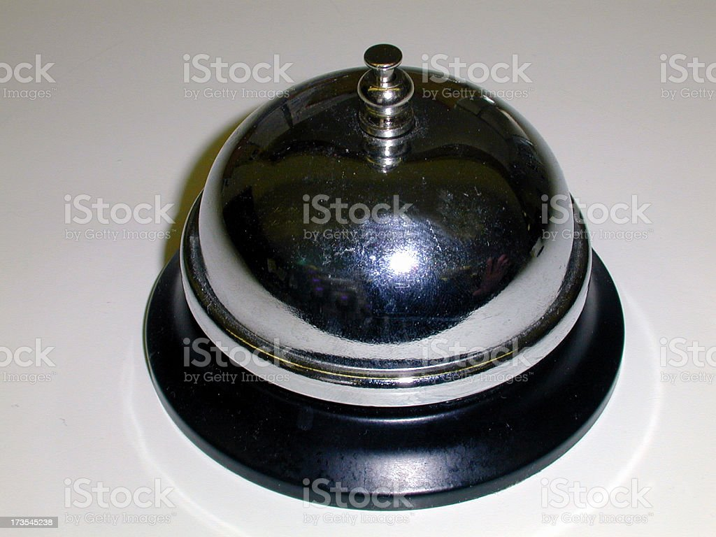 Service bell for sales royalty-free stock photo
