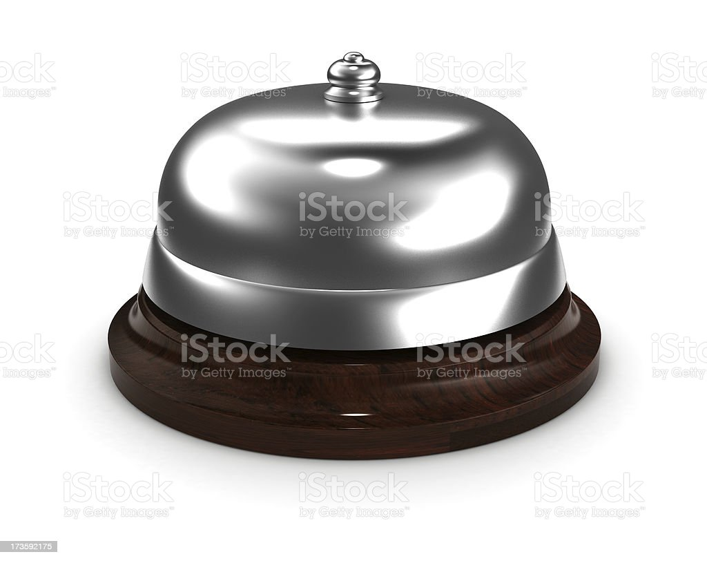 Service Bell royalty-free stock photo
