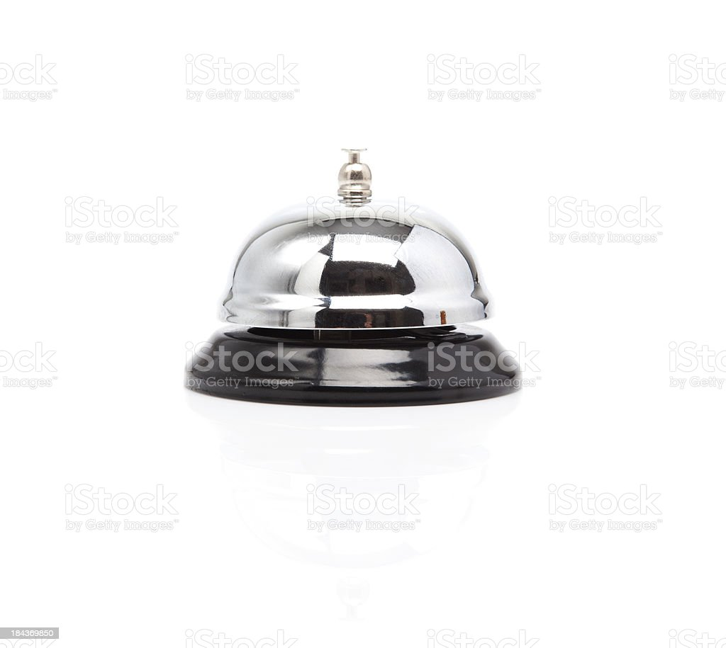 Service Bell. royalty-free stock photo