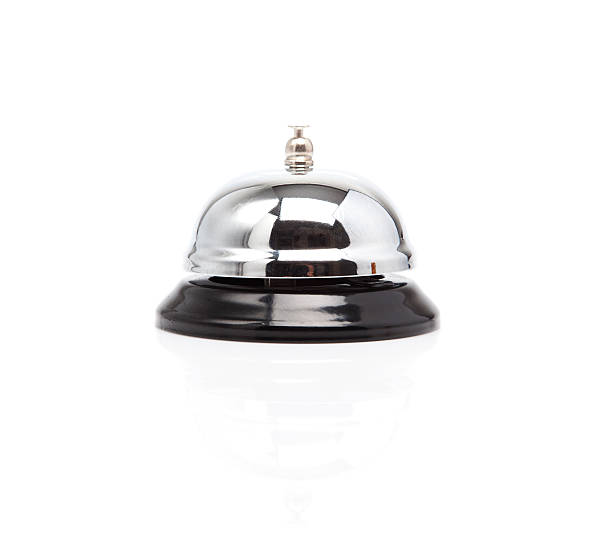 Service Bell. stock photo