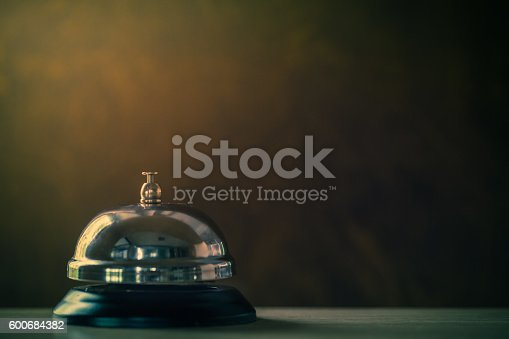 istock Service bell vintage 600684382