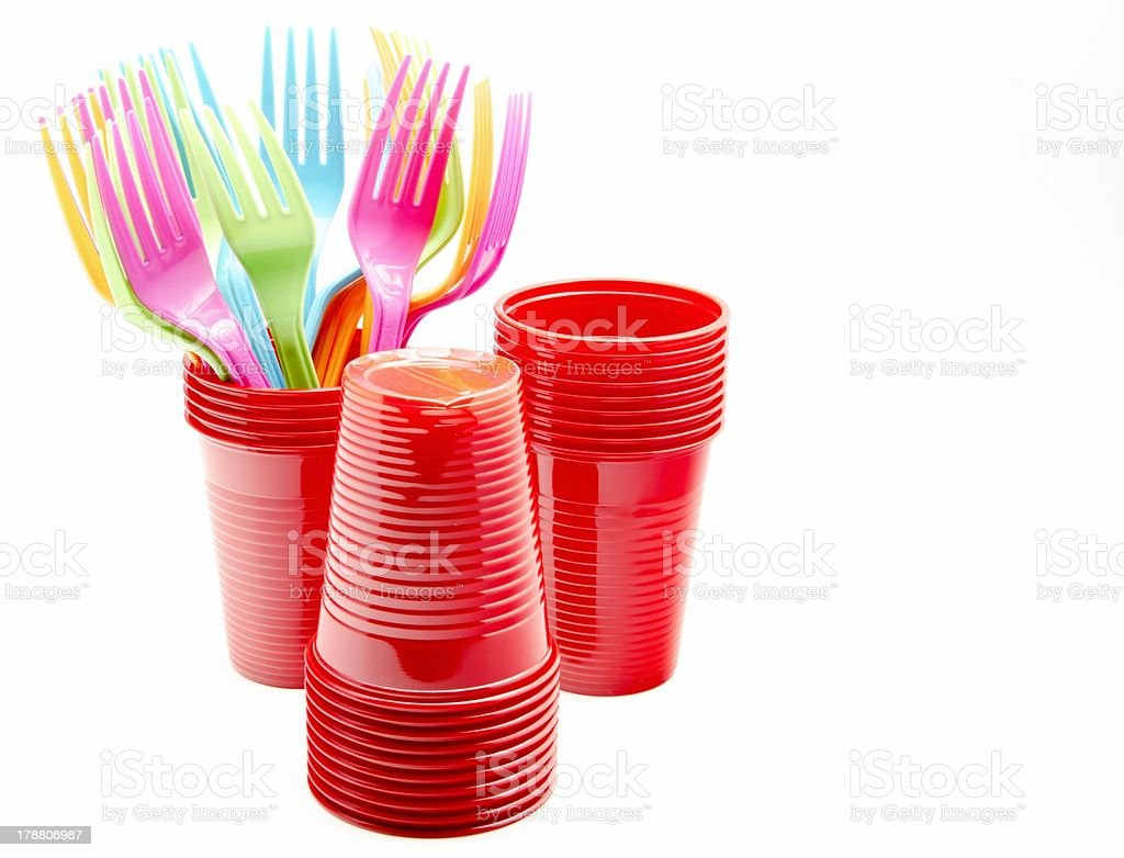 Service buffet table royalty-free stock photo