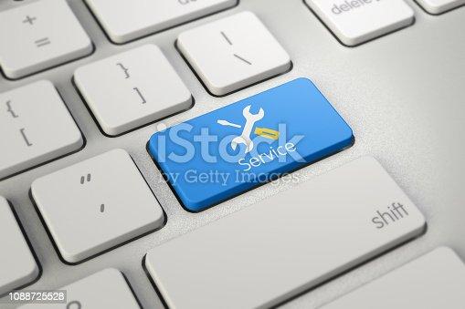istock Service Button 1088725528