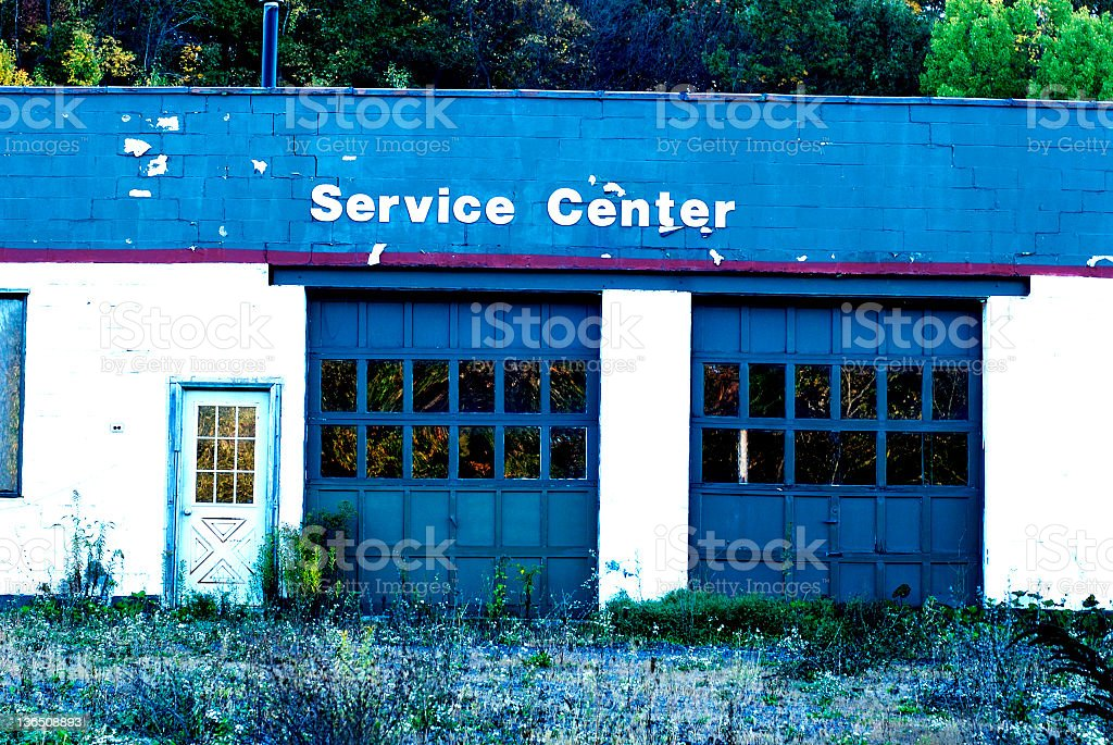 Service Center royalty-free stock photo