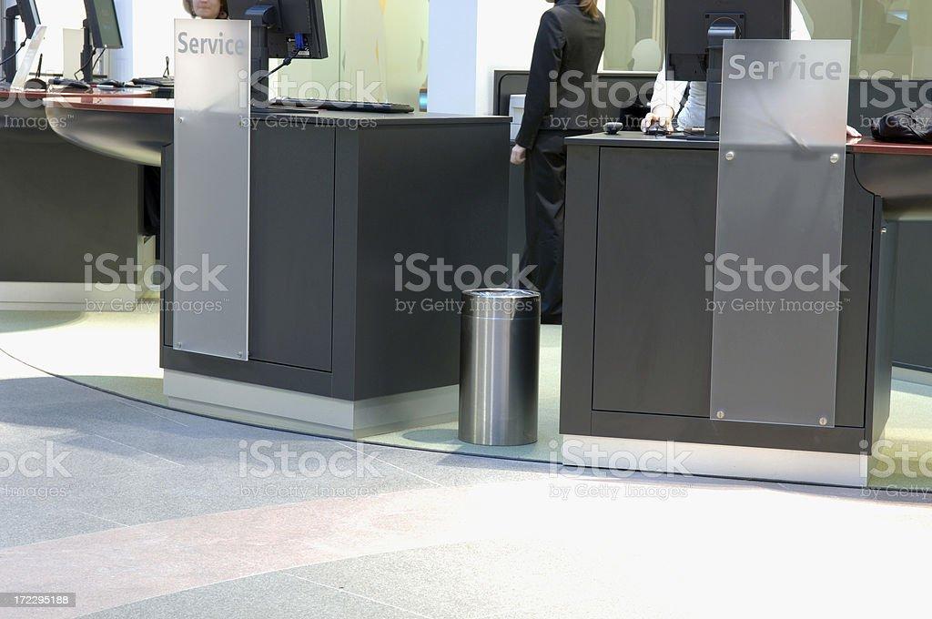 service center stock photo