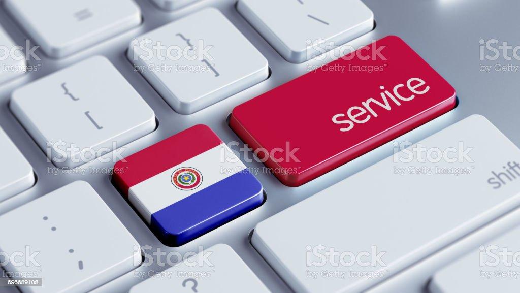 Concepto de servicio - foto de stock
